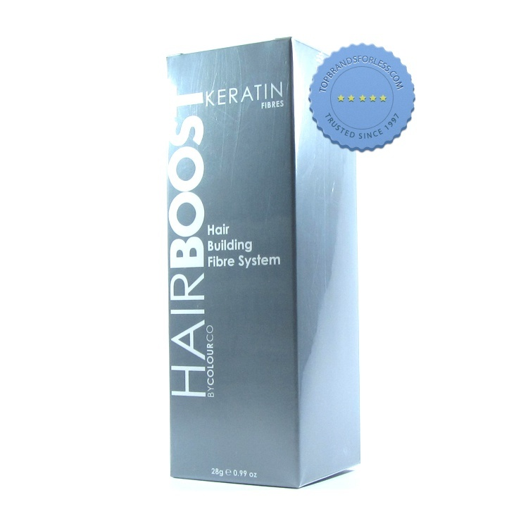 Hair Boost Keratin Fibres by ColourCo Hair Building Fibre System Dark Brown
