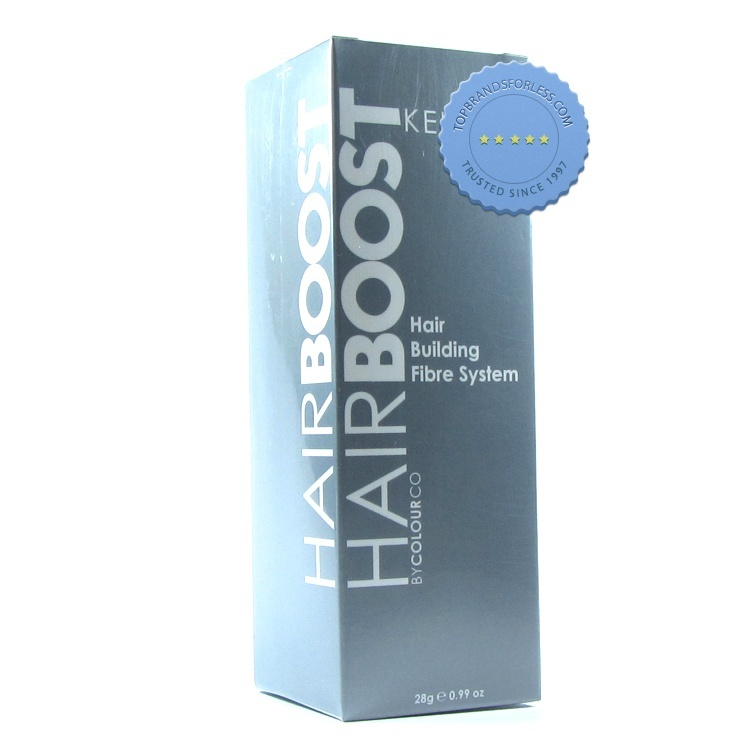 Hair Boost Keratin Fibres by ColourCo Hair Building Fibre System Light Brown