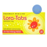 Lora Tab – Contains 10mg Loratadine