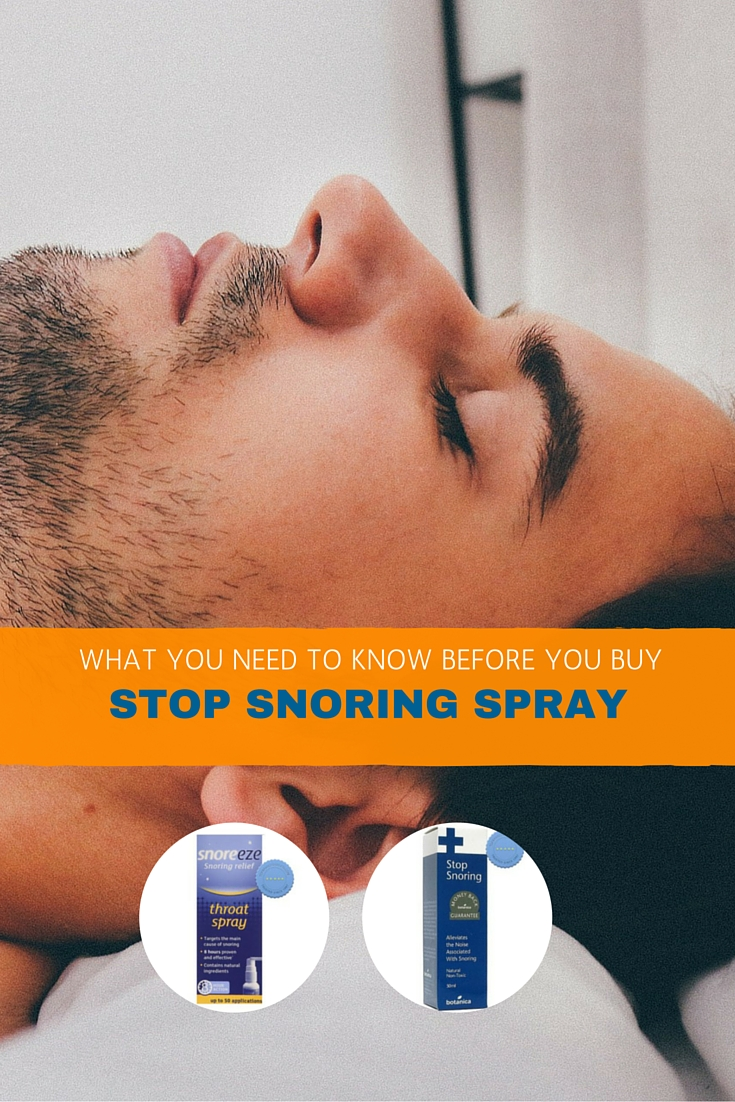 TBFL - snoring spray pinterest