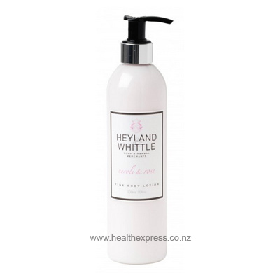 Buy heyland and whittle body lotion neroli and rose 300ml Ships fast from Pharmacy NZ