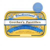 Buy grether s pastilles blackcurrant sf for throat and voice 110g - Prompt Dispatch