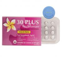 30 Plus NuWoman Natural Hormone Support 120 Tablets