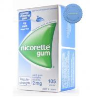 Nicorette Icy Mint Gum 2mg 105 Pack - Buy in Bulk and Save