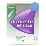 Nicorette Inhalator Refill 20 - International Shipping at Pharmacy Express