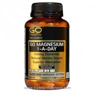 Go Healthy Magnesium 1 a Day 500mg Elemental 60 Capsules