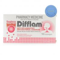Buy Difflam Raspberry Sugar Free Throat Lozenges 16 Pack