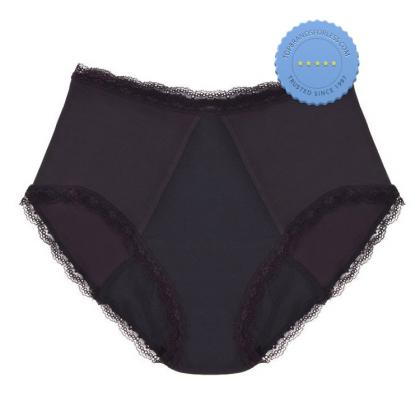 Buy Confitex Woman Full Brief Basic High Absorbency Black Size 2XL -