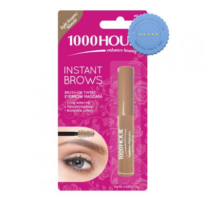 Buy 1000 Hour Instant Brows Mascara Light Brown to Blonde 6g -