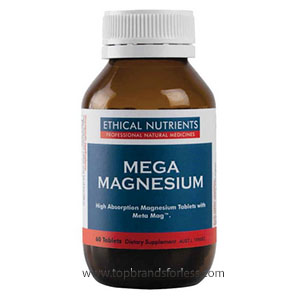Buy ethical nutr mega magnesium 60 tablets -