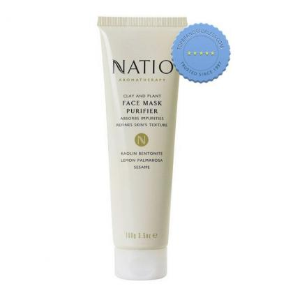 Buy natio clay and plant face mask -