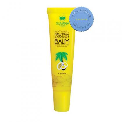 Buy Suvana Paw Paw Coconut Balm 7g - Prompt Dispatch