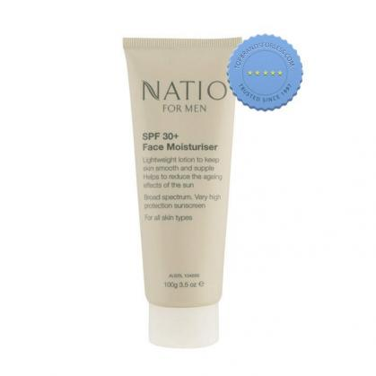 Natio For Men Face Moisturiser SPF30 100g - International Shipping