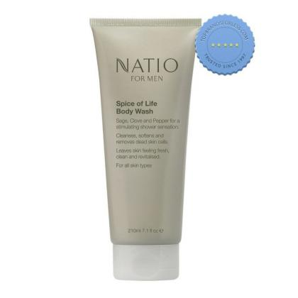 Buy Natio Mens Spice of Life Body Wash 210ml -