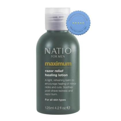 Buy Natio Mens Maximum Razor Healing Lotion - Razor Burn Cream