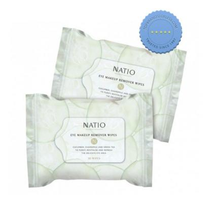 Buy Natio Eye Makeup Remover Wipes online - Ships Fast