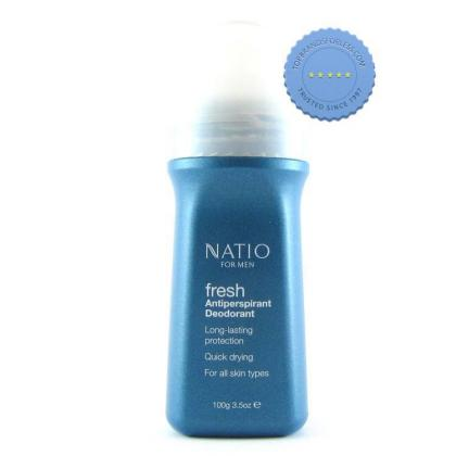 Buy Natio Men Fresh Roll On Deodorant 100g online - Ships Fast