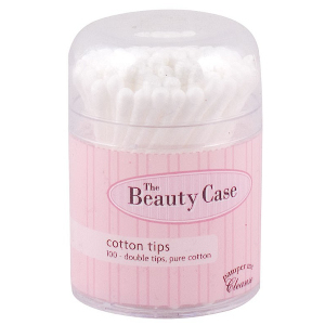 Buy the beauty case cotton tips 100s -