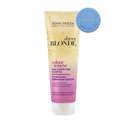 Buy John Frieda Sheer Blonde Color Renew Tone Correcting Shampoo -