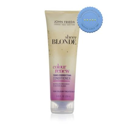 Buy John Frieda Sheer Blonde Colour Renew Tone Correcting Conditioner -