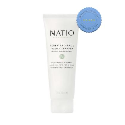 Buy Natio Renew Radiance Cleanser 100g -