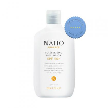 Buy Natio Suncare Moisturizing Sun Lotion SPF50 200ml - Prompt Dispatch