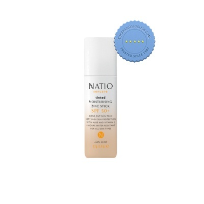 Buy Natio SPF50 Tinted Zinc Stick 12g