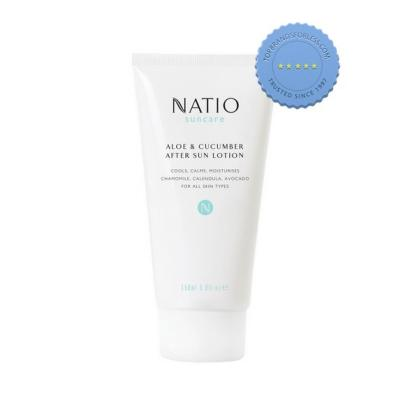 Buy Natio Suncare Aloe and Cucumber After Sun Lotion 150ml