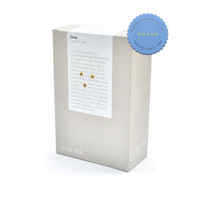 Buy Love Tea Sleep 20 Pyramid Tea Bags - Prompt Dispatch