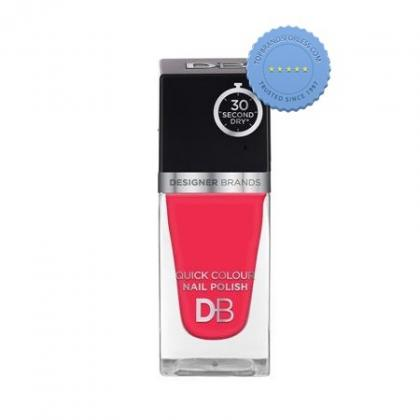 Buy db designer brands quick colour nail polish 559 pink peony -