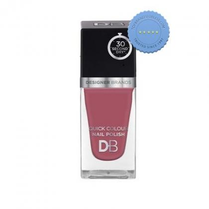 Buy db designer brands quick colour nail polish 570 mauve delight -
