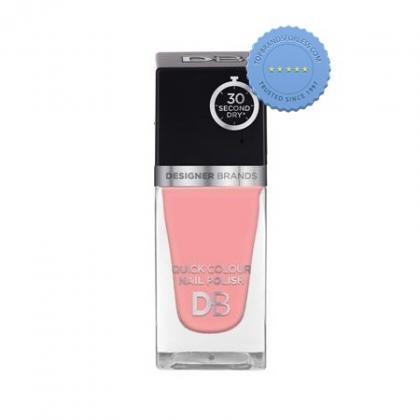 Buy db designer brands quick colour nail polish 558 ballerina pink -