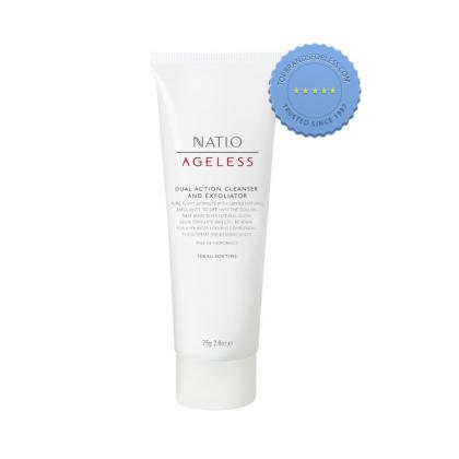 Buy Natio Ageless Dual Cleanser Exfoliater online - Ships Fast