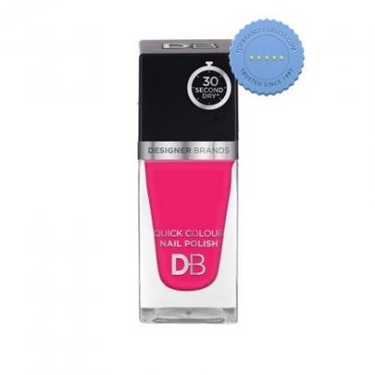 Buy db designer brands quick colour nail polish 567 electric pink -