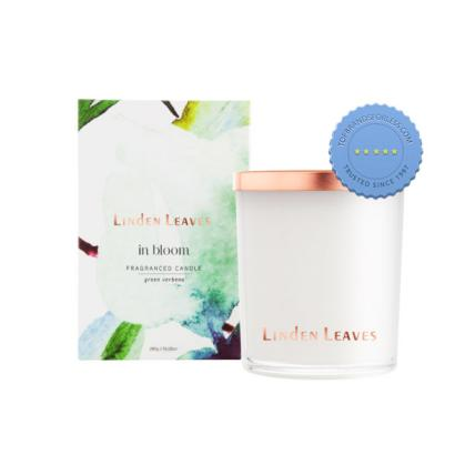Buy l leaves green verbena fragrance candle - Prompt Dispatch