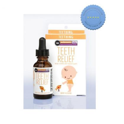 Buy wellements baby teeh relief help soothe and support gums 30ml