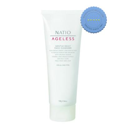 Buy Natio Ageless Gentle Daily Face Cleanser 100g - Prompt Dispatch