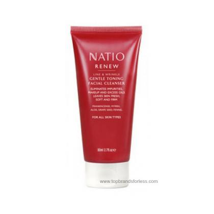 Buy Natio Renew Gentle Facial Cleanser 80ml -