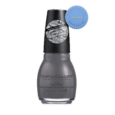 Buy SinfulColors Hypnotic Transforming Top Coat Concrete Jungle - Prompt Dispatch