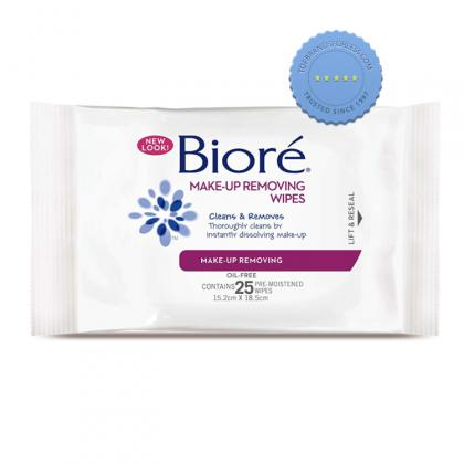 Buy Biore Makeup Removing 25 Wipes - Prompt Dispatch
