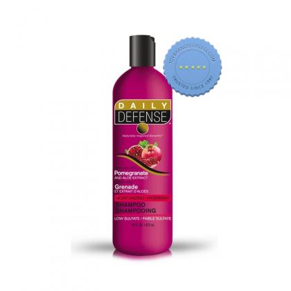 Buy Daily Defence Pomegranate Shampoo 473ml - Prompt Dispatch