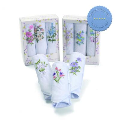 Buy melr hankies 3pk embroid - Prompt Dispatch