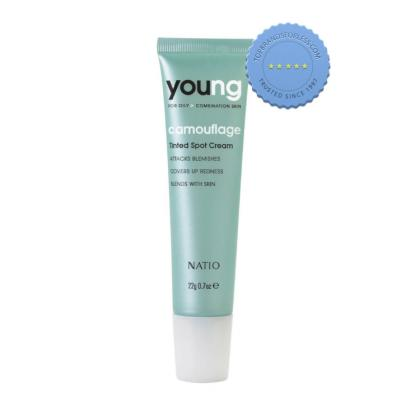 Buy Natio Young Tinted Spot Cream 22g -