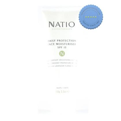 Buy natio daily face moisturiser spf15 -