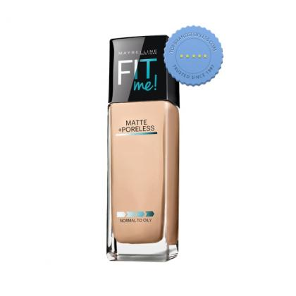 Maybelline Fit Me Matte and Poreless Foundation 120 Classic Ivory