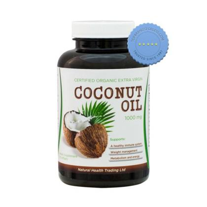 Buy NHT Certified Organic Extra Virgin Coconut Oil 1000mg 120 Capsules