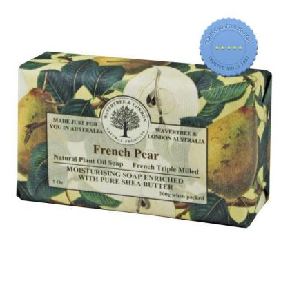 Buy wavertree and london natural products french pear soap 200g
