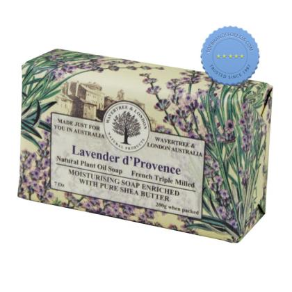 Buy Wavertree and London Lavender DProvence Luxury Soap 200g -