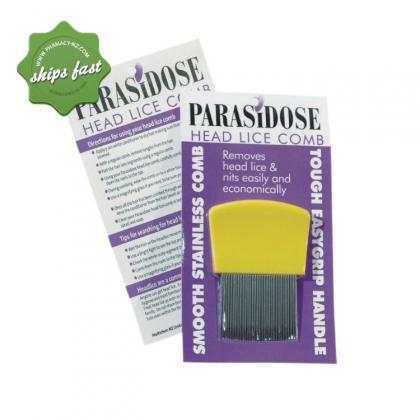 Buy Parasidose Plastic Nit Comb - Prompt Dispatch