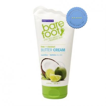 Freeman Bare Foot Lime and Coconut Butter Cream 125ml